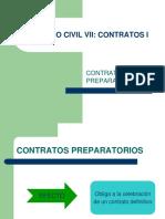 264637102 Derecho Civil VII Contratos I Contratos Preparatorios Ppt