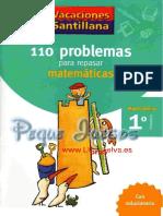 110 Problemas de Matematicas PDF Libroselva