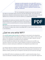 Potencia Wifi