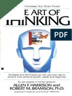 The Art of Thinking (Allen F. Harrison)