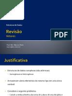 Revisao Vetores - Prof. Marcos Alves UCDB