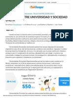 Relacion Entre Universidad y Sociedad Unefa - Trabajos - Danieldand22