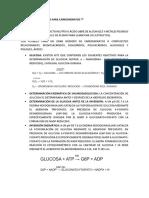 Metodos Enzimáticos Para Carbohidratos y Fibra