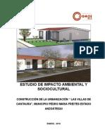 """CONSTRUCCIÓN DE LA URBANIZACIÓN """" LAS VILLAS DE CANTAURA"""