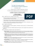 ley de protección al medio ambiente, Bolivia
