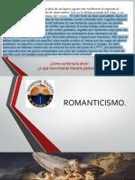 ROMANTICISMO DIAPO