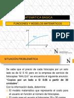 Funciones y Modelos Matemáticos