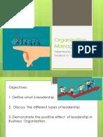 Organization-Managemnet-Leadership-Report-1.pptx
