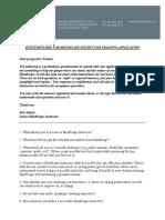MindScape Instructor Training Questionnaire