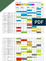 Distribución Aulas Sep2019 - Feb2020