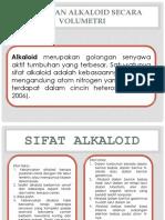 Analisa Alkaloid