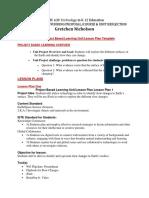 edtc 620 final unit plan- nicholson