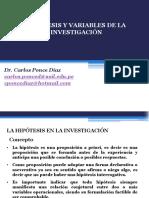 (6)Ppt Hipotesis y Variables de La Investigación