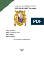Tercer Informe de Electrotecnia