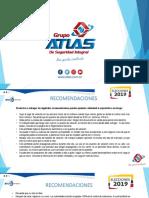 RECOMENDACIONES ELECCIONES 2019