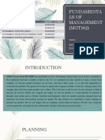 Fundamentals of Management (Mgt162)