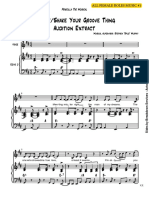 Finally Shake Your Groove Thing Sheet Music