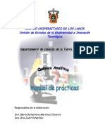 Manual de Prácticas química analítica 2019B
