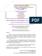 Role of Stylistics in Learning English as a Second Language.pdf