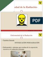 Enfermedades de la Radiación