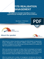 PMSA Knowledge Series - Benefit Management