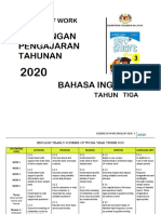 SOW ENGLISH YEAR 3 2020 by RozayusAcademy