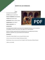 Juramento de Los Horacios,Los Fucilamientos Del 3 de Mayo, La Balsa de La Medusa