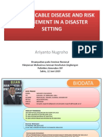 Communicable Disease and Risk Management in a Disaster