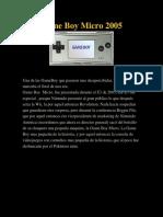 El Rincón de Las Maquinitas Game Boy Micro 2005