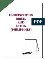 SLF Online BTC2 M08 Underwriting Supplement v1.0 2013-03