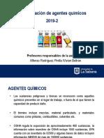 4. Agentes Químicos y Métodos de Control