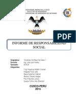 Responsabilidad Social 3ra Unidad Informe