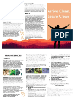 invasive species brochure