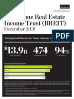 Blackstone REIT Fact Sheet