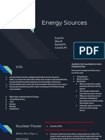 energy sources group 1