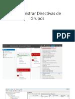 Administrar Directivas de Grupos