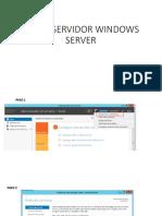 Crear Servidor Windows Server