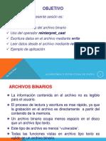 Archivos Binarios-c++
