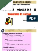 Mec Reaccion Quimica organica