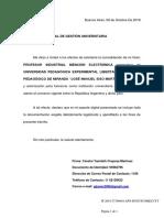 Resolución de Reconocimiento Oficial y de Validez Nacional Del Título en Su País de Origen o Similar