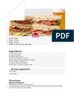 Classical Club Sandwich