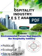 PEST Analysis of Hotel Industries