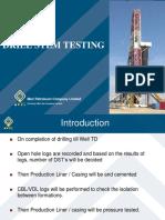 Drill Stem Testing