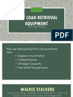 Unit Load Retrieval Equipment