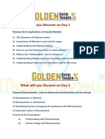 Agenda for Golden Ratio Trader (1)