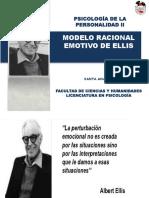 Albert Ellis Modelo Racional Emotivo