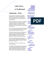 Ayahuasca Medicina Tradicional