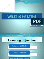 2. What is Health