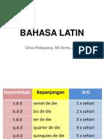 Bahasa Latin 22