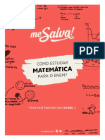 Me Salva! - Como Estudar Matemática Para o ENE